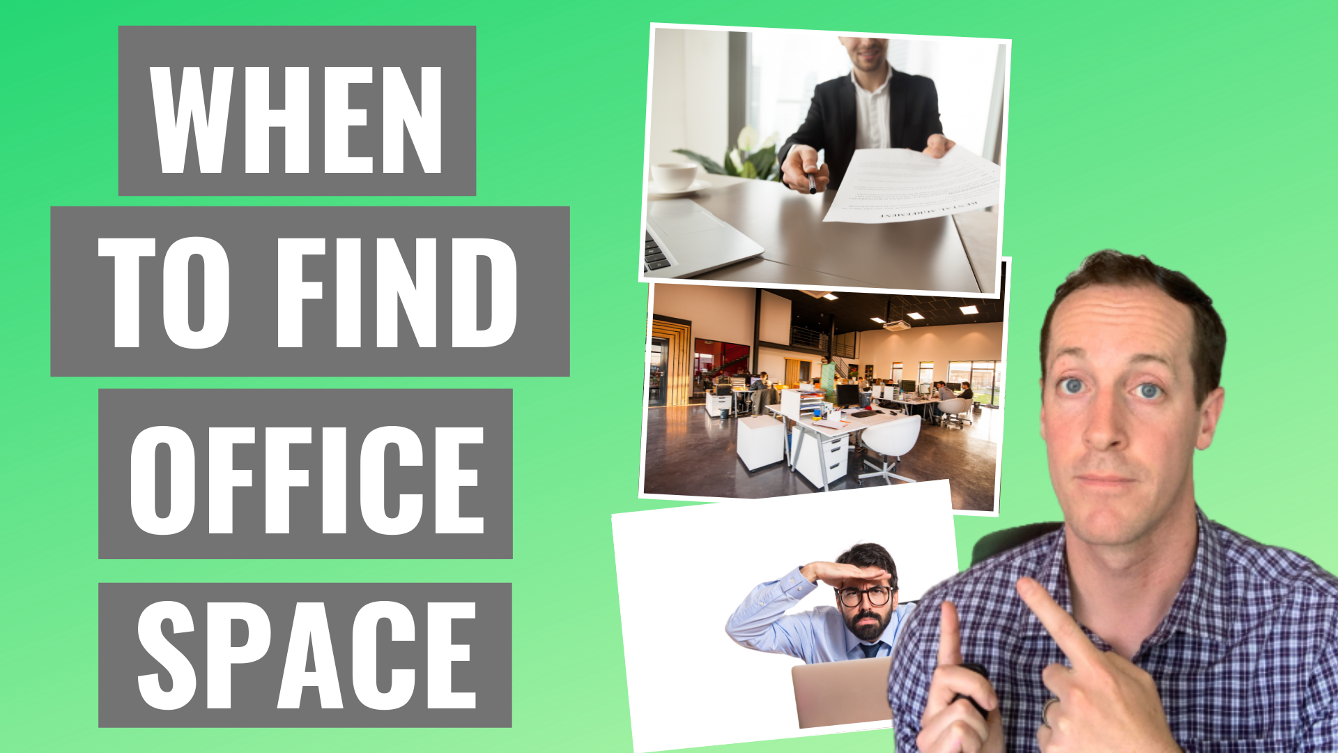 When should I start looking for office space? Tips to help business owners find their perfect office space.